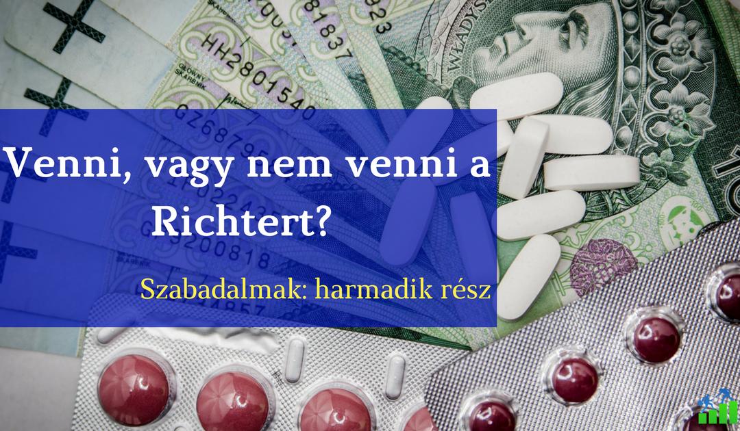 Szabadalmak 3: Mi a sztori a Richterben?