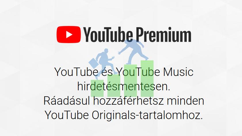 Megjelent a Youtube Premium