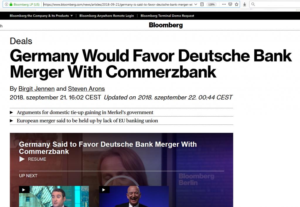 Deutsche Bank Commerzbank pénzügyi fitnesz