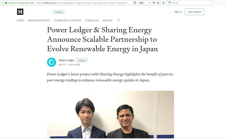 power ledger japán napenergia pénzügyi fitnesz