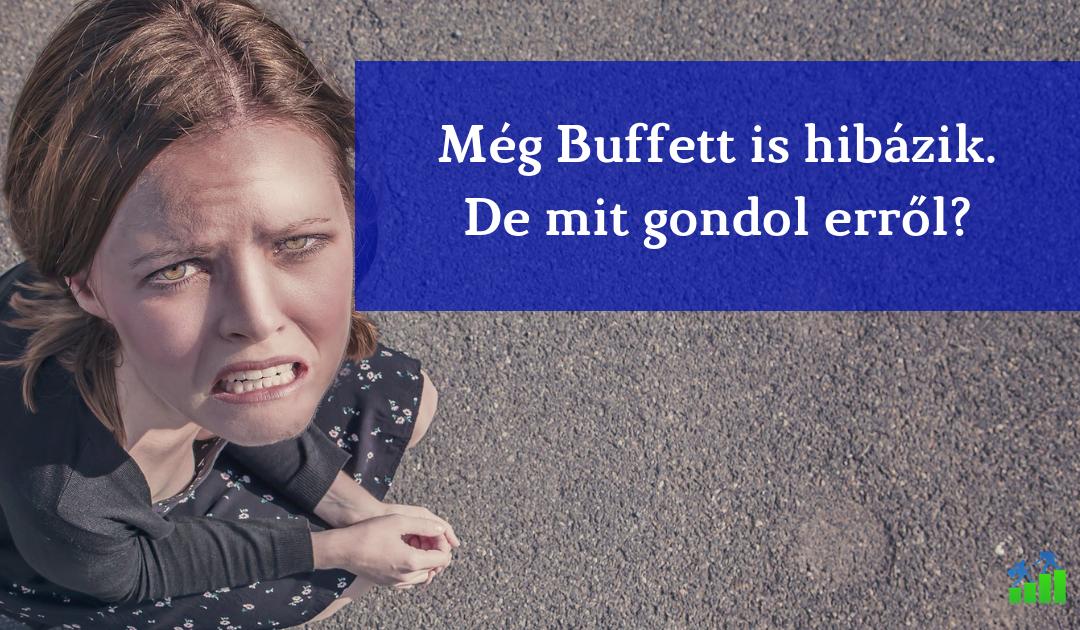 Buffett is hibázik néha. Mitől leszel jobb befektető? Az 1973-as levele.