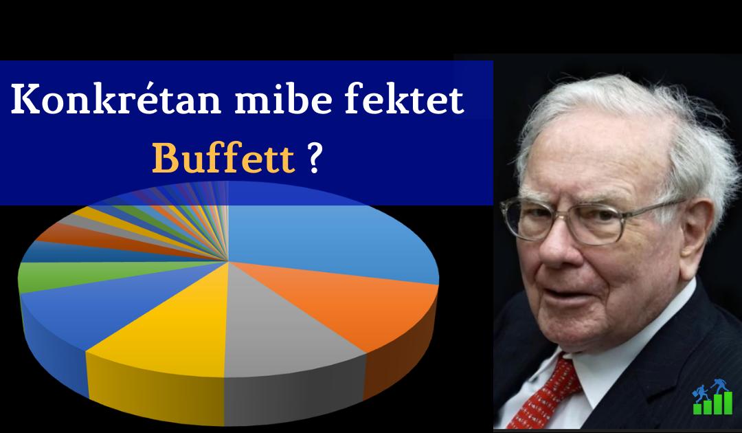 Íme Warren Buffett részletes portfóliója